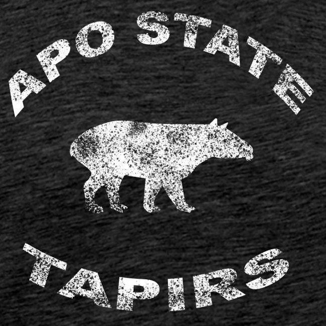 Apostate tapirs logo white
