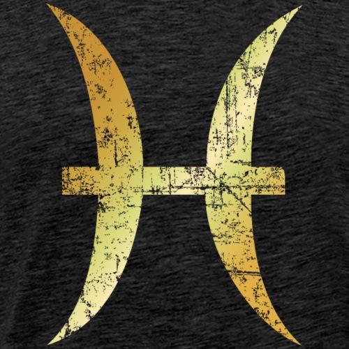 Zodiac Sign Pisces – The Sign of Pisces - Men's Premium T-Shirt