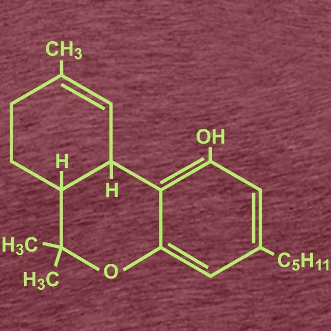 Marijuana (THC) Molecule