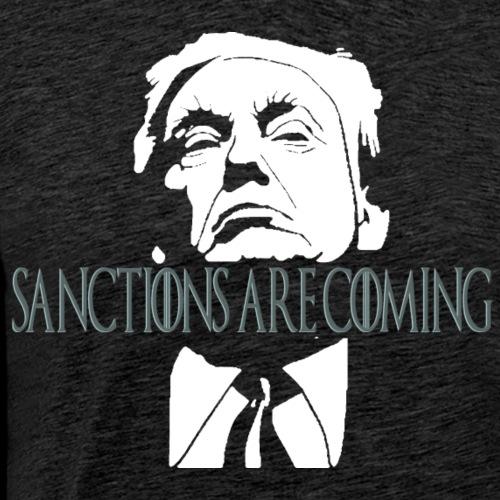Sanctions are Coming - Men's Premium T-Shirt