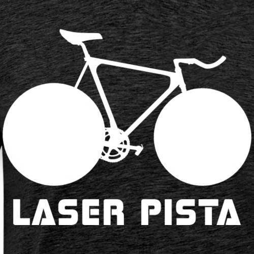Cinelli Laser Pista Bicycle (White) - Men's Premium T-Shirt