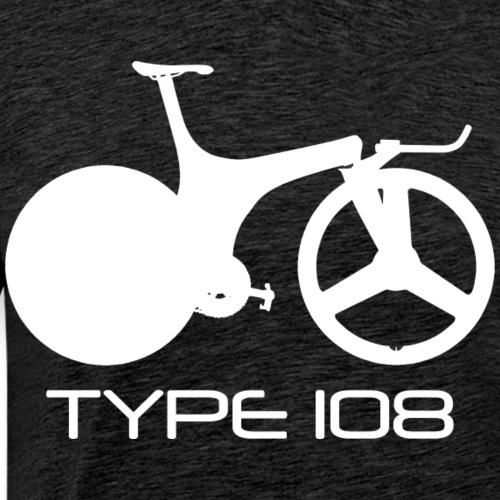 Lotus Sport Type 108 Bicycle (White) - Men's Premium T-Shirt