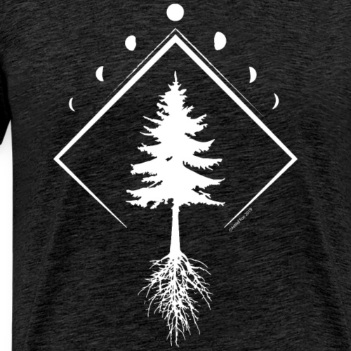 Picea mariana Northern Light - Men's Premium T-Shirt
