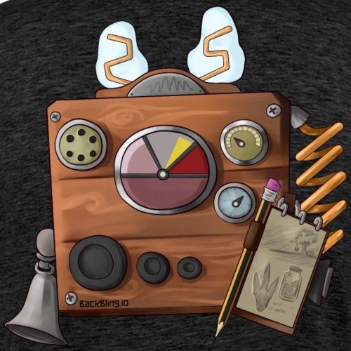 Radio Back Bling - Men's Premium T-Shirt