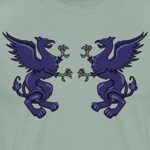 2 Griffin Crest - Men's Premium T-Shirt
