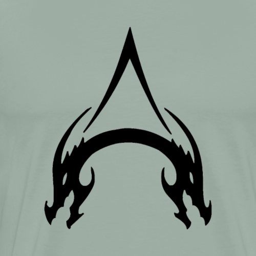 A in Adored Eclipse - Men's Premium T-Shirt