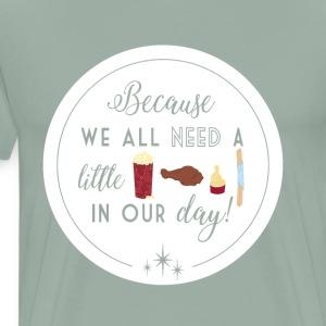 Snacks Redesign - Men's Premium T-Shirt