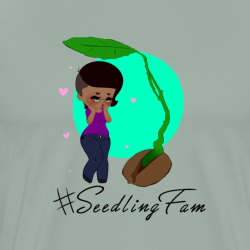Sprouting SeedlingFam - Men's Premium T-Shirt