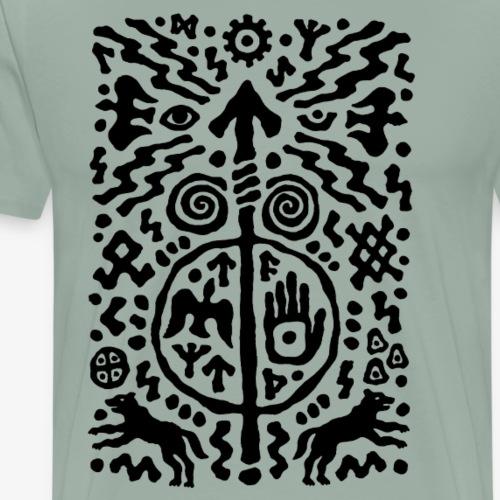 Power of Hands by Qenjo - Men's Premium T-Shirt