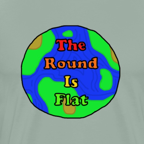 The Round Flat Movement - Men's Premium T-Shirt