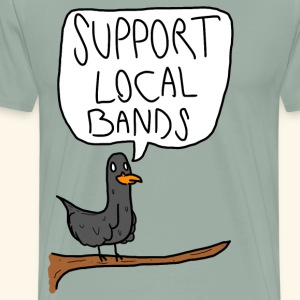 Practical Advice Pigeon - Men's Premium T-Shirt