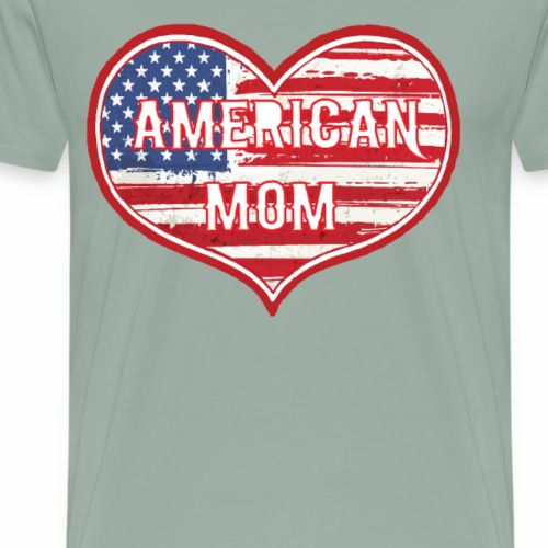 AMERICAN MOM - Men's Premium T-Shirt