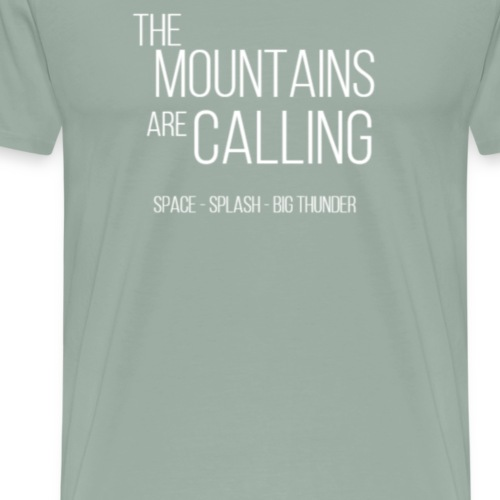 Disney Mountains - Men's Premium T-Shirt