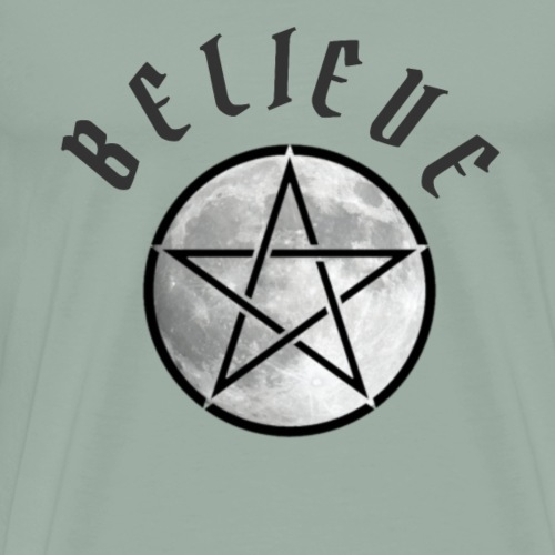 wicca moon - Men's Premium T-Shirt