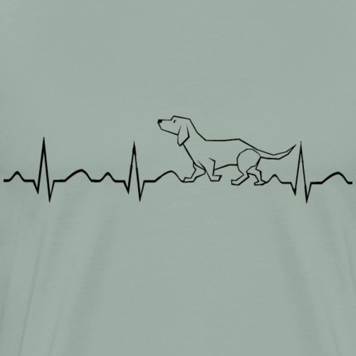 Doxie Love - Love of Dog - Men's Premium T-Shirt