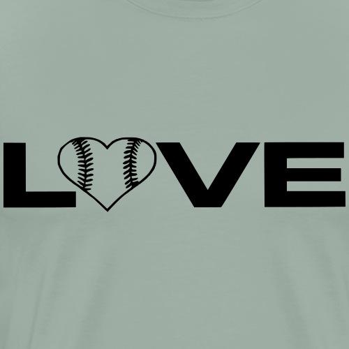 Love Baseball/Softball - Men's Premium T-Shirt