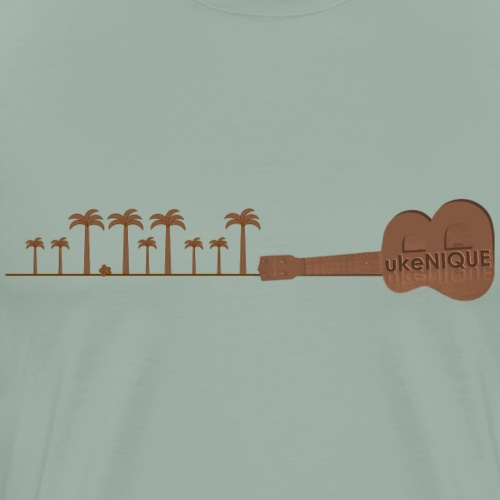 B ukeNIQUE Trees br - Men's Premium T-Shirt