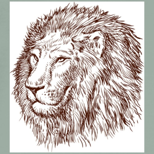 Mighty Lion - Men's Premium T-Shirt