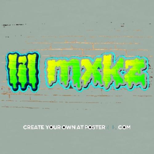 graffiti creator poster lil mxkz edit - Men's Premium T-Shirt