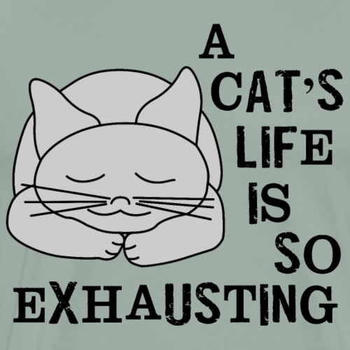 Cat's Life - Men's Premium T-Shirt