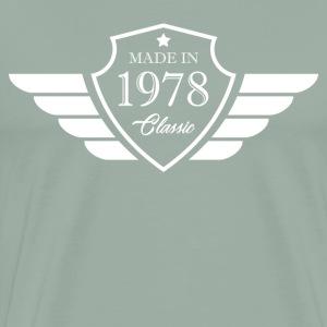 Made in1978 Tshirt 40th Birthday's Gift - Men's Premium T-Shirt