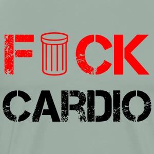 fck cardio black - Men's Premium T-Shirt