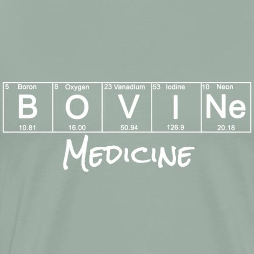 Periodic Table: Bovine Medicine - Men's Premium T-Shirt