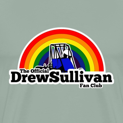 Official Drew Sullivan Fan Club Logo - Men's Premium T-Shirt