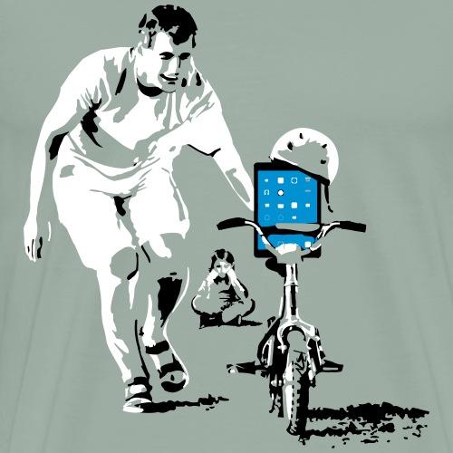 trainingbikenokidedit - Men's Premium T-Shirt