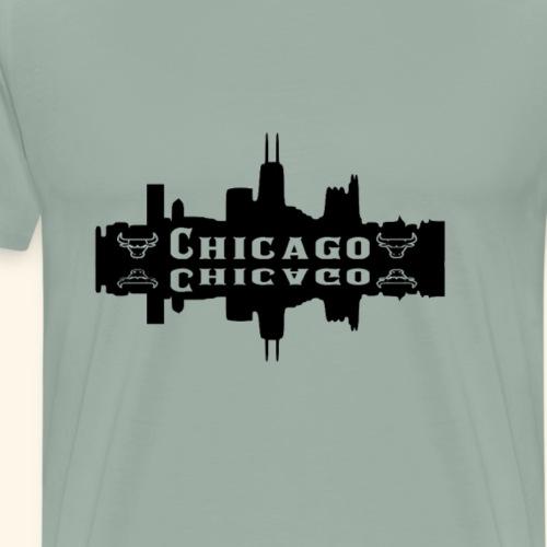 Chicago On The Lake - Men's Premium T-Shirt