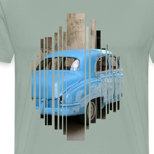 Cuba grid - Men's Premium T-Shirt