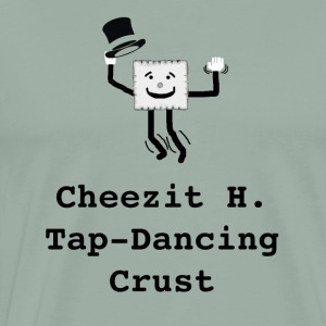 Cheezit H. Tap Dancing Crust - Men's Premium T-Shirt