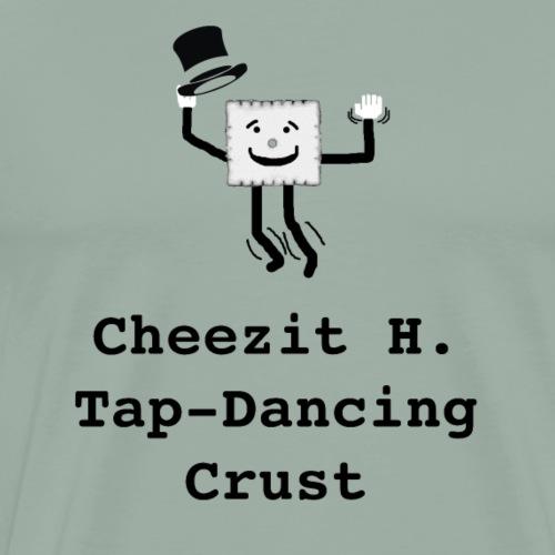 Cheezit H. Tap Dancing Crust - Men's Premium T-Shirt
