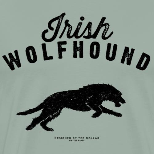 Irish Wolfhound - Men's Premium T-Shirt