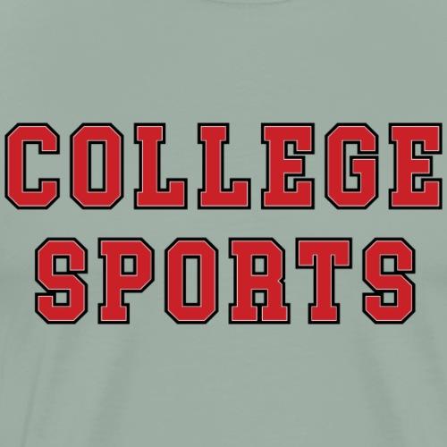 COLLEGE_SPORTS - Men's Premium T-Shirt