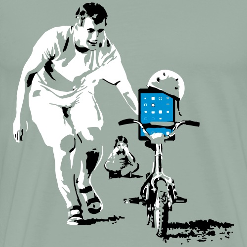 trainingbikenokidedit - Men's Premium T-Shirt