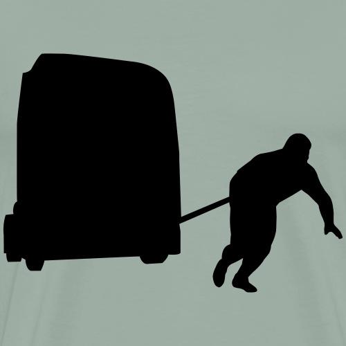 Strongman Truck Pull - Men's Premium T-Shirt