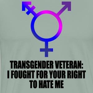 Transgender Veteran - Men's Premium T-Shirt