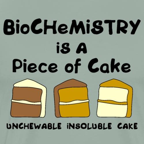 Biochemistry Cake - Men's Premium T-Shirt