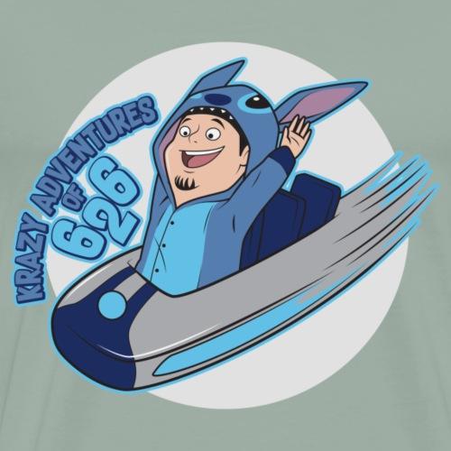 krazy adventures of 626 - Men's Premium T-Shirt