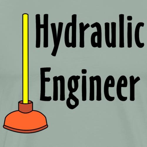 Hydraulic Engineer Toilet Plunger