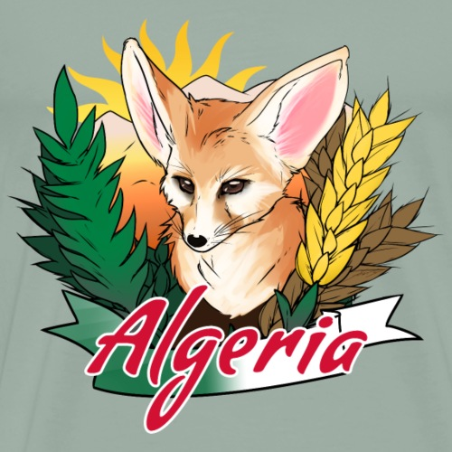 Algeria - Country Symbols - Men's Premium T-Shirt