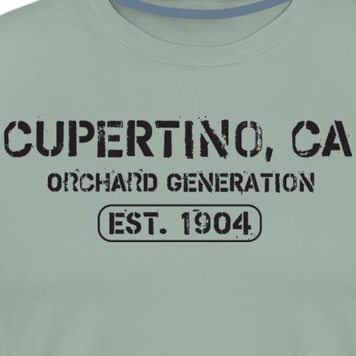 Cupertino California Orchard Generation - Men's Premium T-Shirt