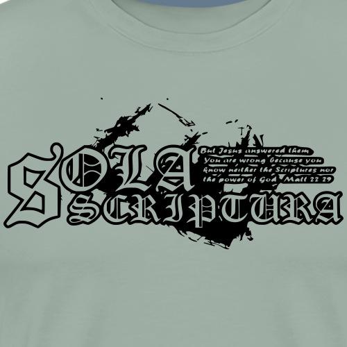 Sola Scriptura - Men's Premium T-Shirt