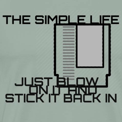 SIMPLE LIFE - Men's Premium T-Shirt