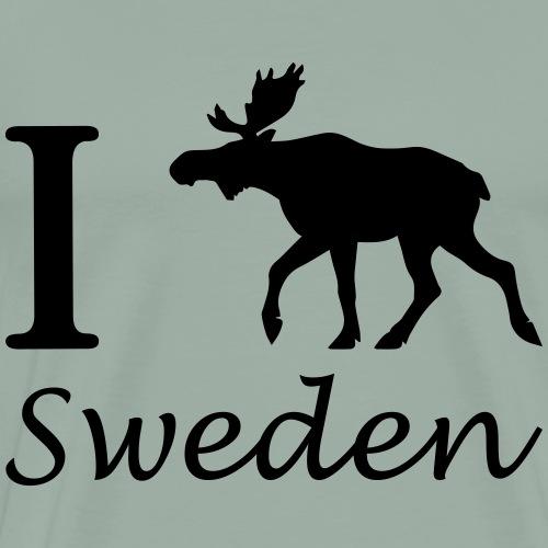 I love Sweden - Men's Premium T-Shirt