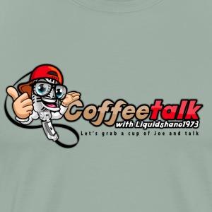 CoffeeTalk WIth Liquidshano1973 Podcast - Men's Premium T-Shirt