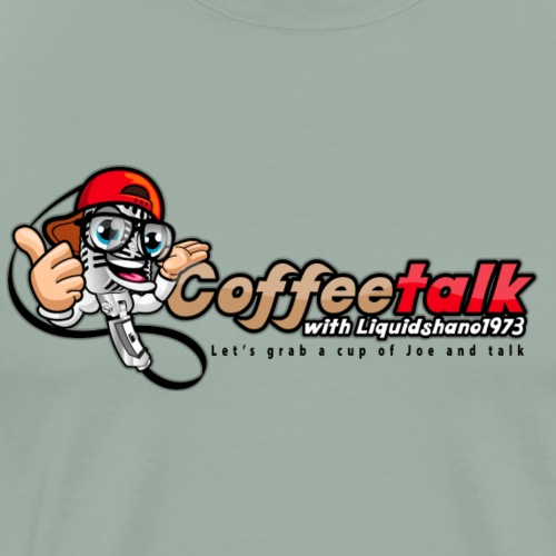CoffeeTalk WIth Liquidshano1973 Podcast - Men's Premium T-Shirt