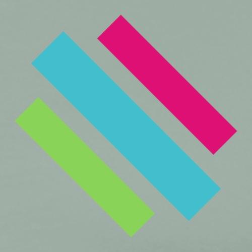 Above Logo - Men's Premium T-Shirt