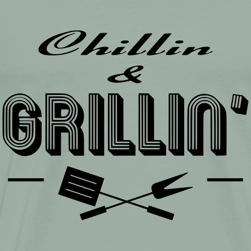 Chillin & Grillin' - Men's Premium T-Shirt